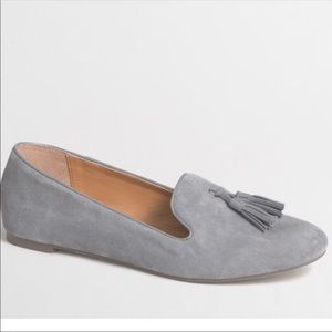 J. Crew Cora Suede Loafer with Tassels
